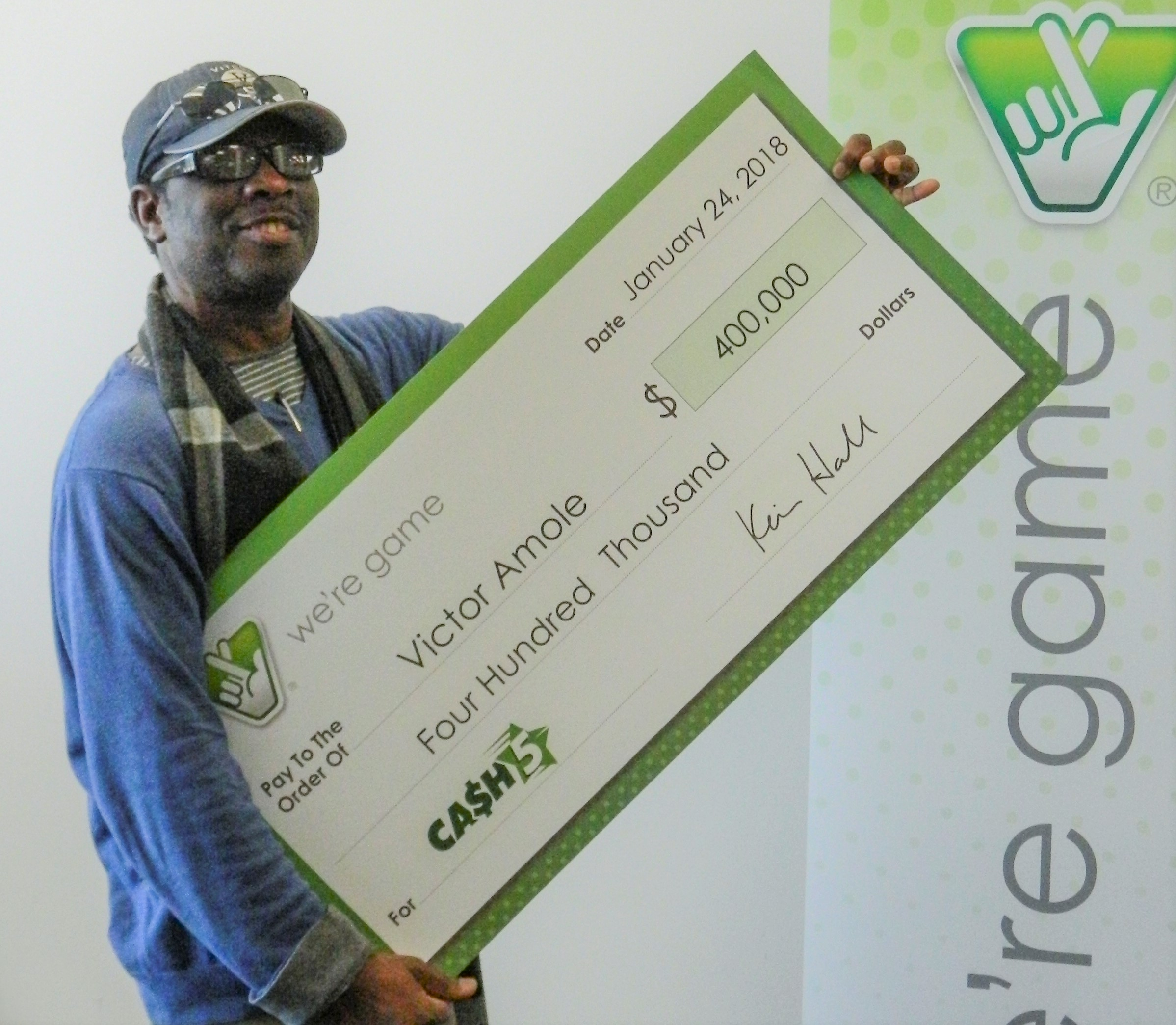 Woodbridge man wins lottery after seeing winning numbers in a dream